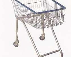 Carrinho de supermercado gigante