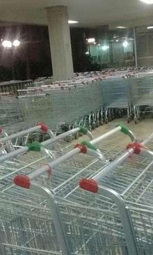 Aluguel de carrinho de supermercado