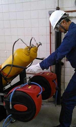 Assistência técnica em carrinhos com cilindros
