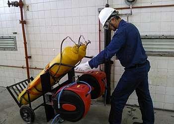 Carrinho para cilindro de gás