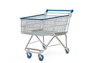 Carrinho de supermercado para comprar