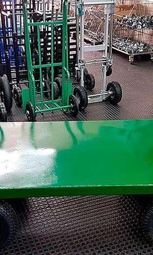 Carrinho de carga plataforma