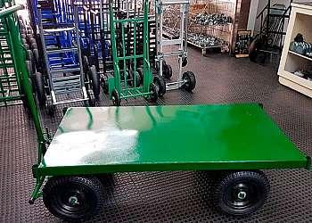 Carrinho de carga plataforma dobrável