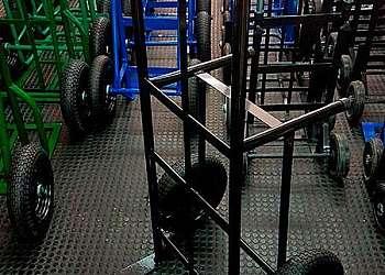 Carrinho de carga para subir escada