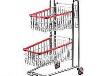 Carrinho de supermercado 90 litros