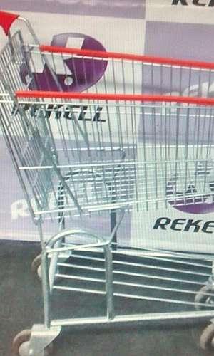 Carrinho de supermercado onde comprar