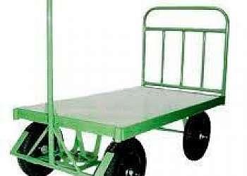 Carrinho plataforma 4 rodas