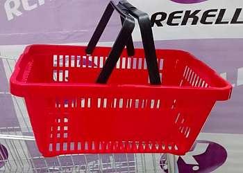 Cestas plasticas para supermercado