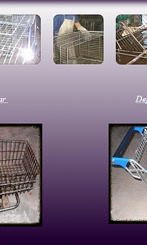 Conserto de carrinhos de compras