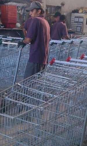 Manutenção carrinhos de compras