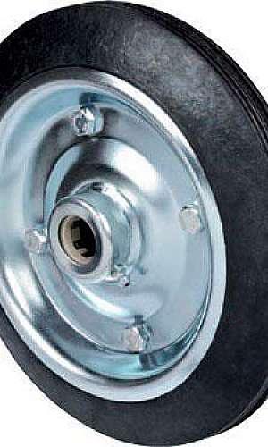 Roda com pneu para carrinho de carga